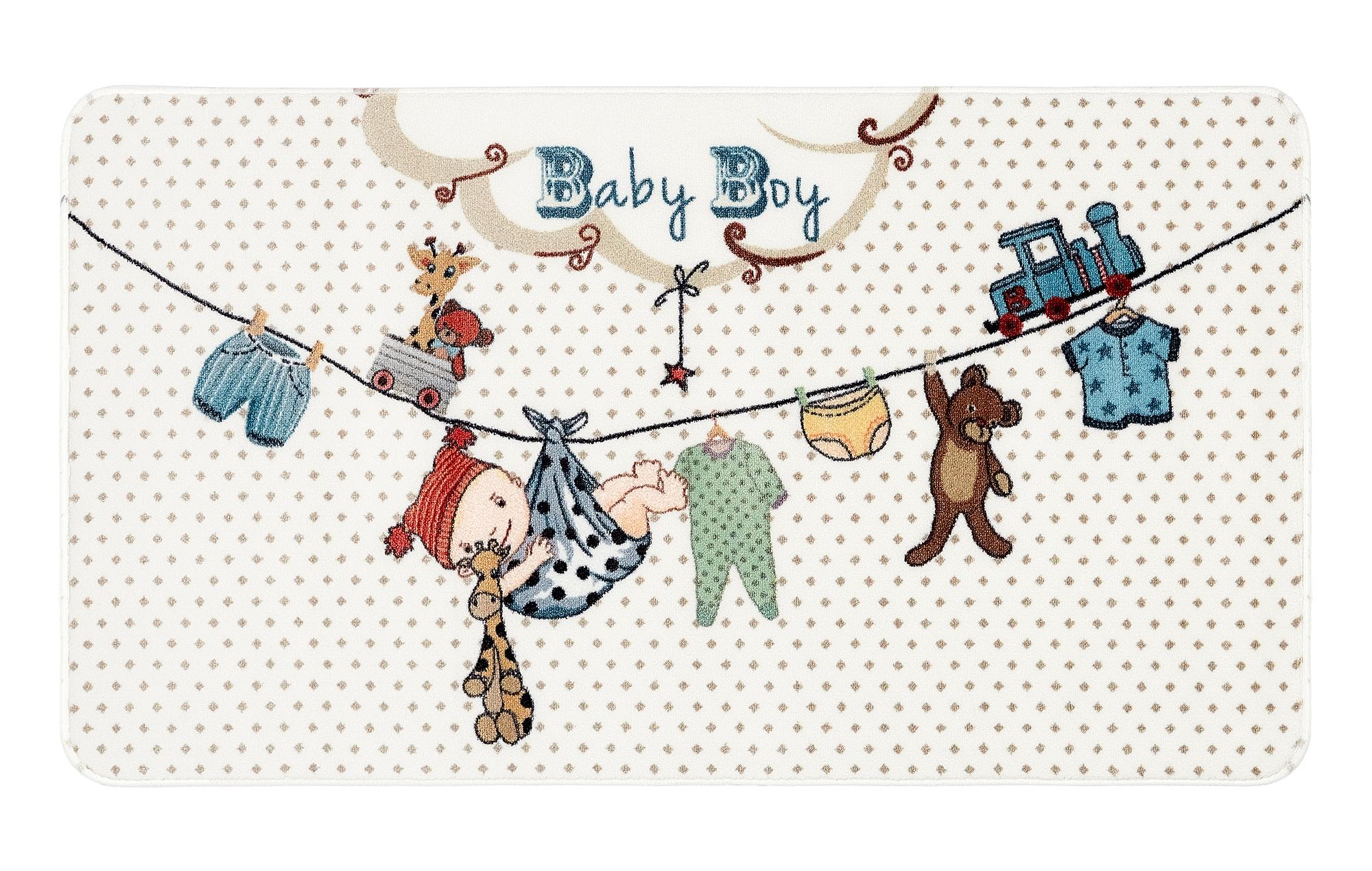 Evolur Baby Boy Nursery Rug