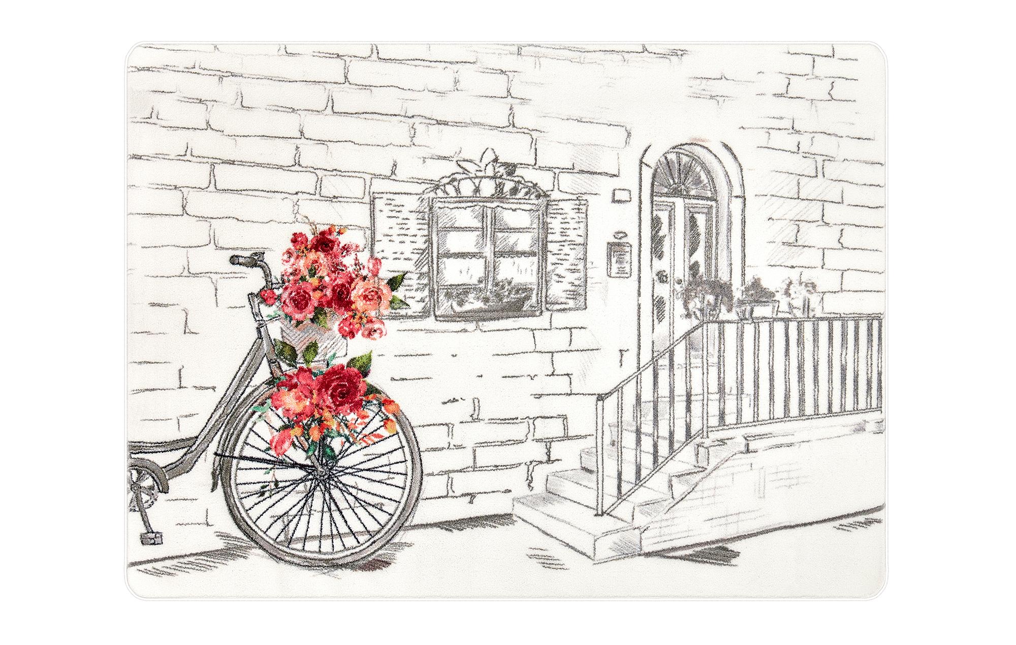 Rose Basket Nursery Rug