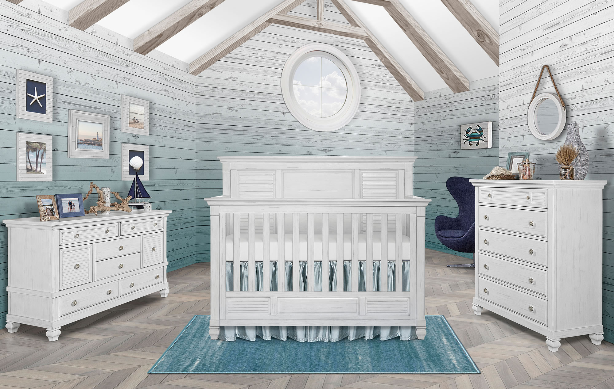 Waterfall Nursery Rug