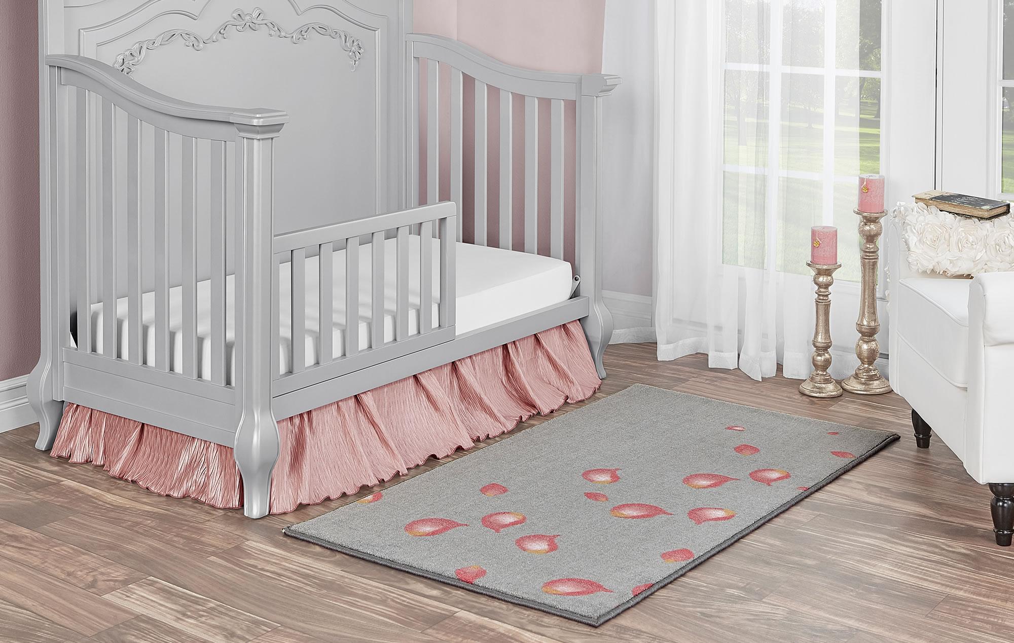 Pink Petals Nursery Rug