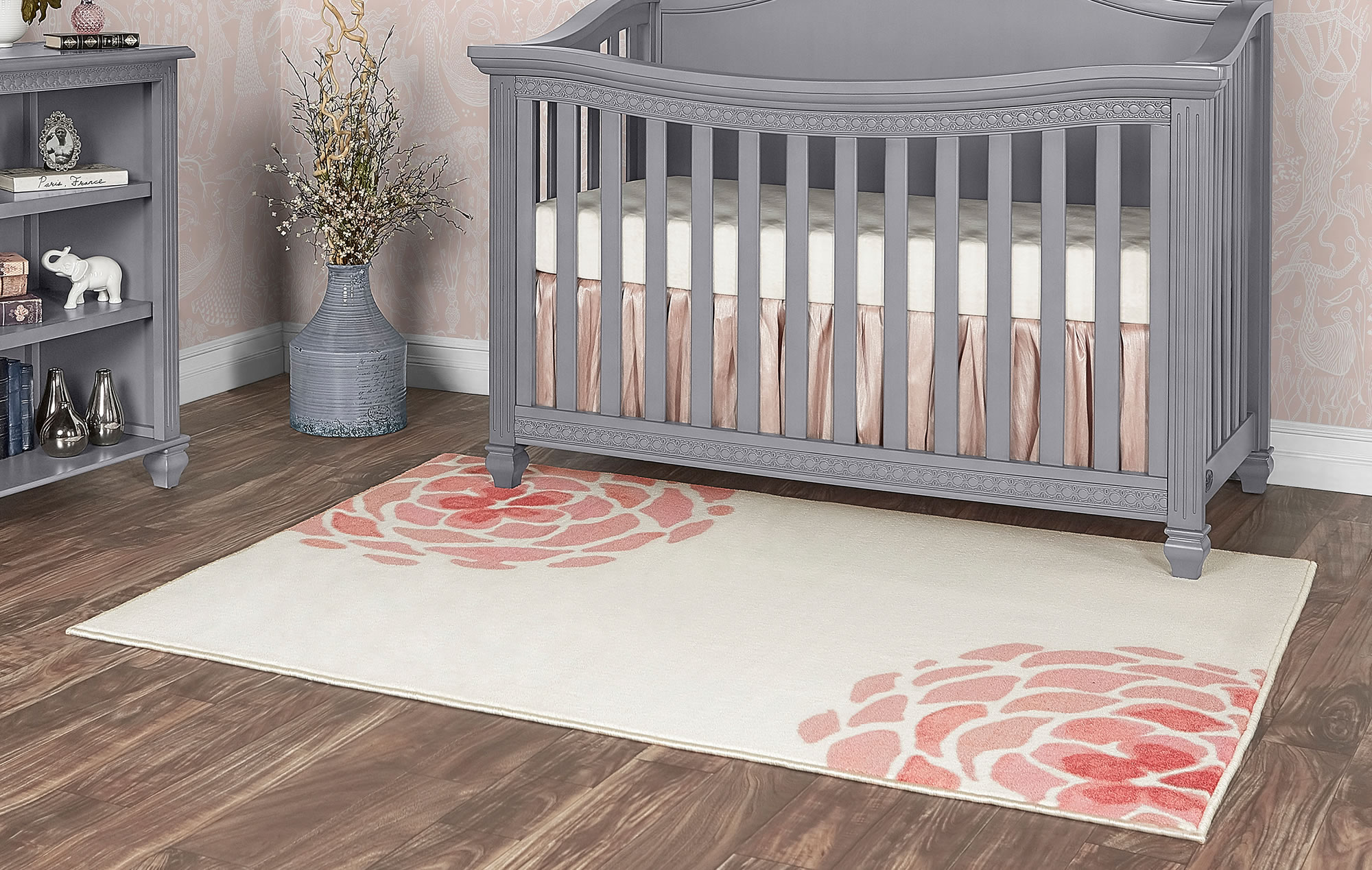 Madison Blooming Peony Nursery Rug