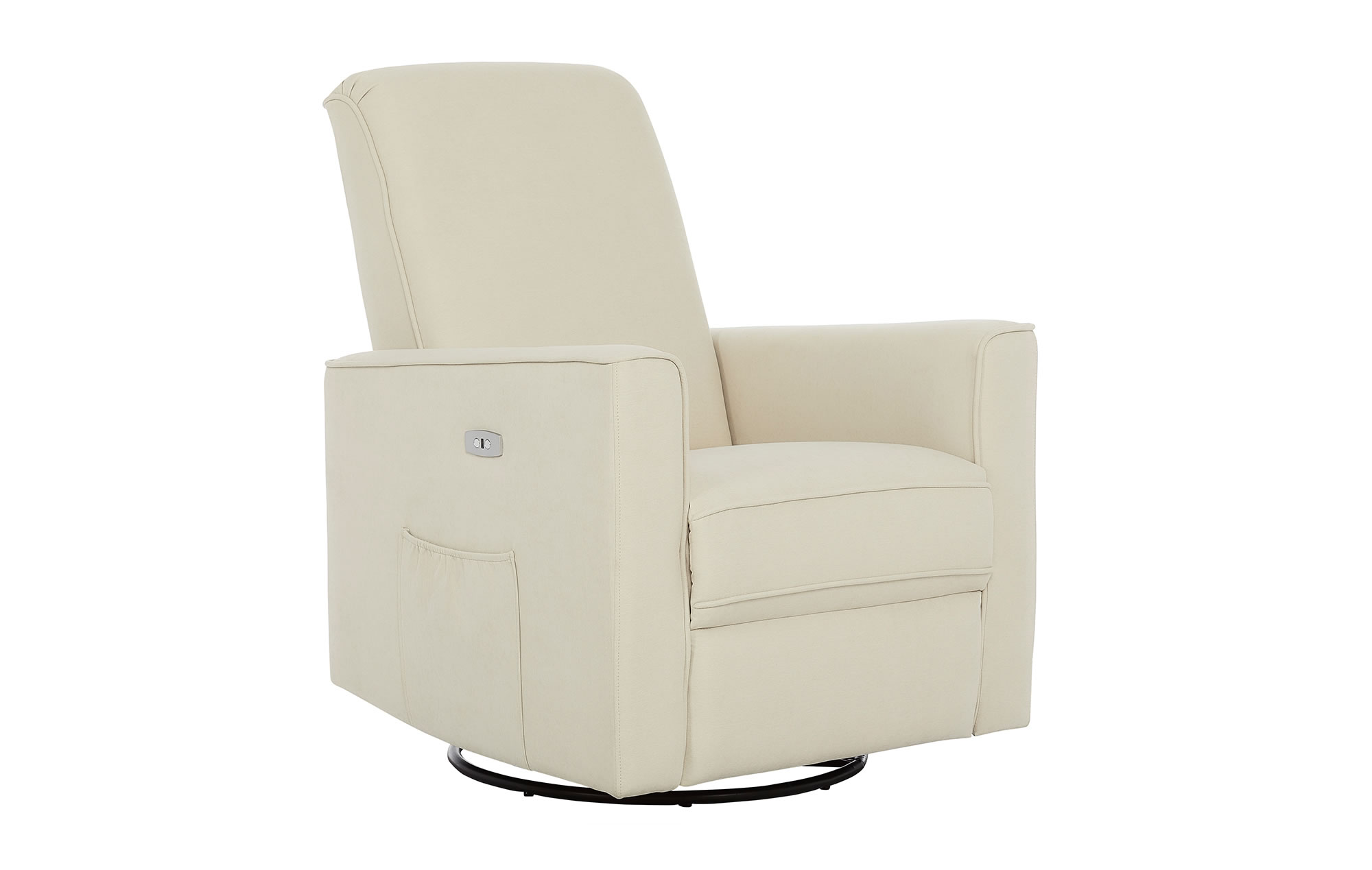 Harlow Deluxe Glider|Recliner|Rocker in Shell