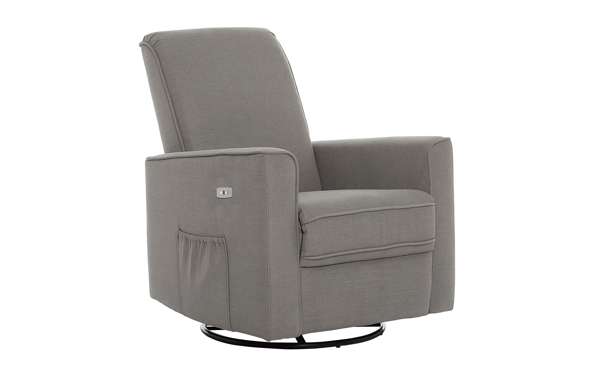 Harlow Deluxe Glider|Recliner|Rocker in Smokey