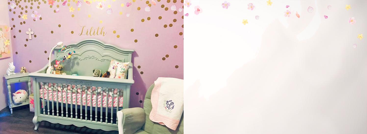Baby Lilith's charming Evolur Aurora Nursery Slider