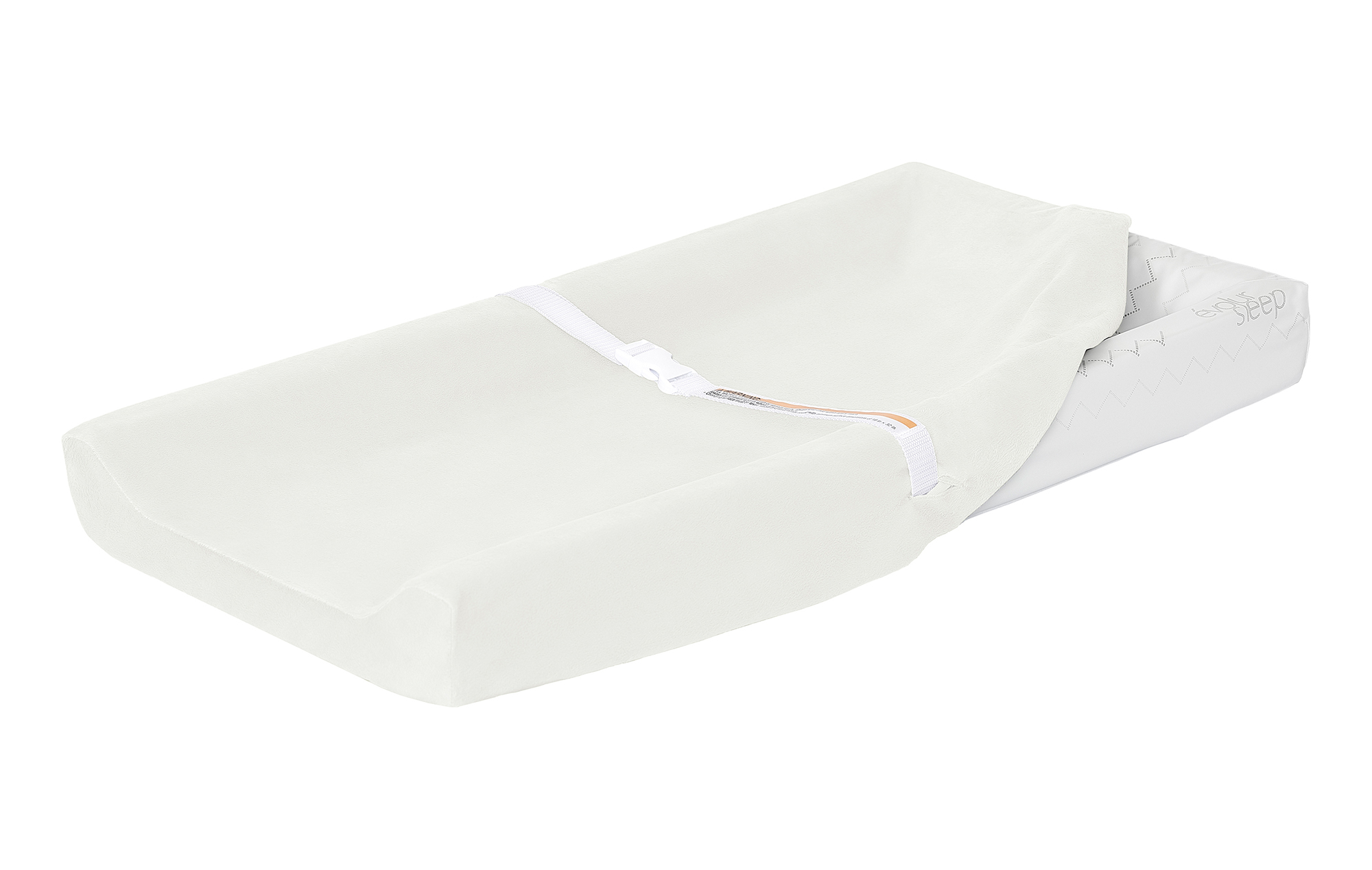 Evolur 3-Sided Contour Changing Pad with 2 Cotton Covers