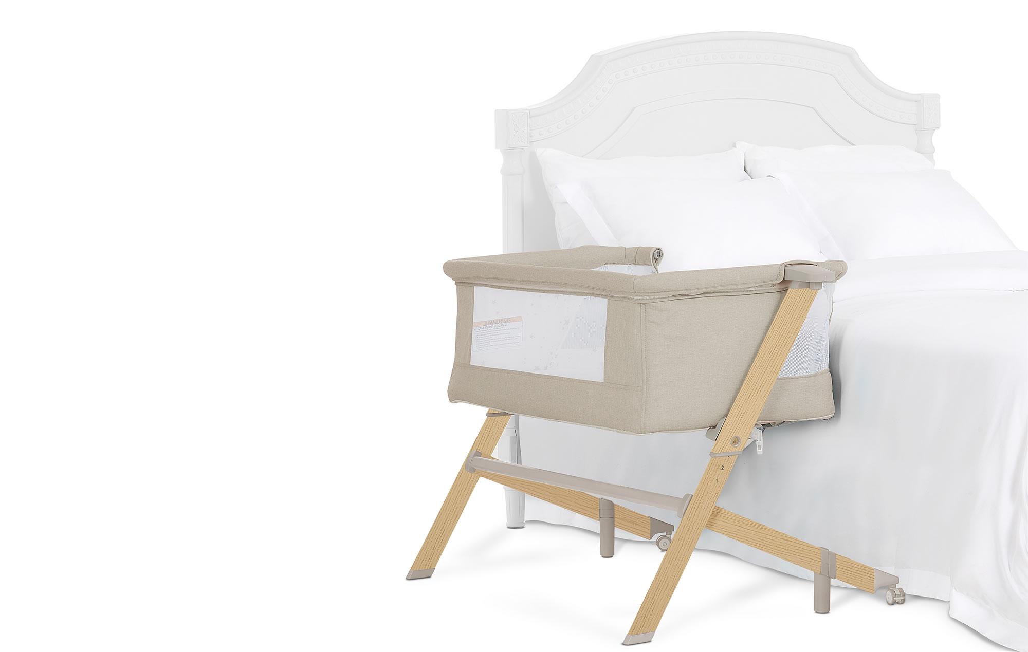 Evolur Steller Bassinet & Bedside Sleeper