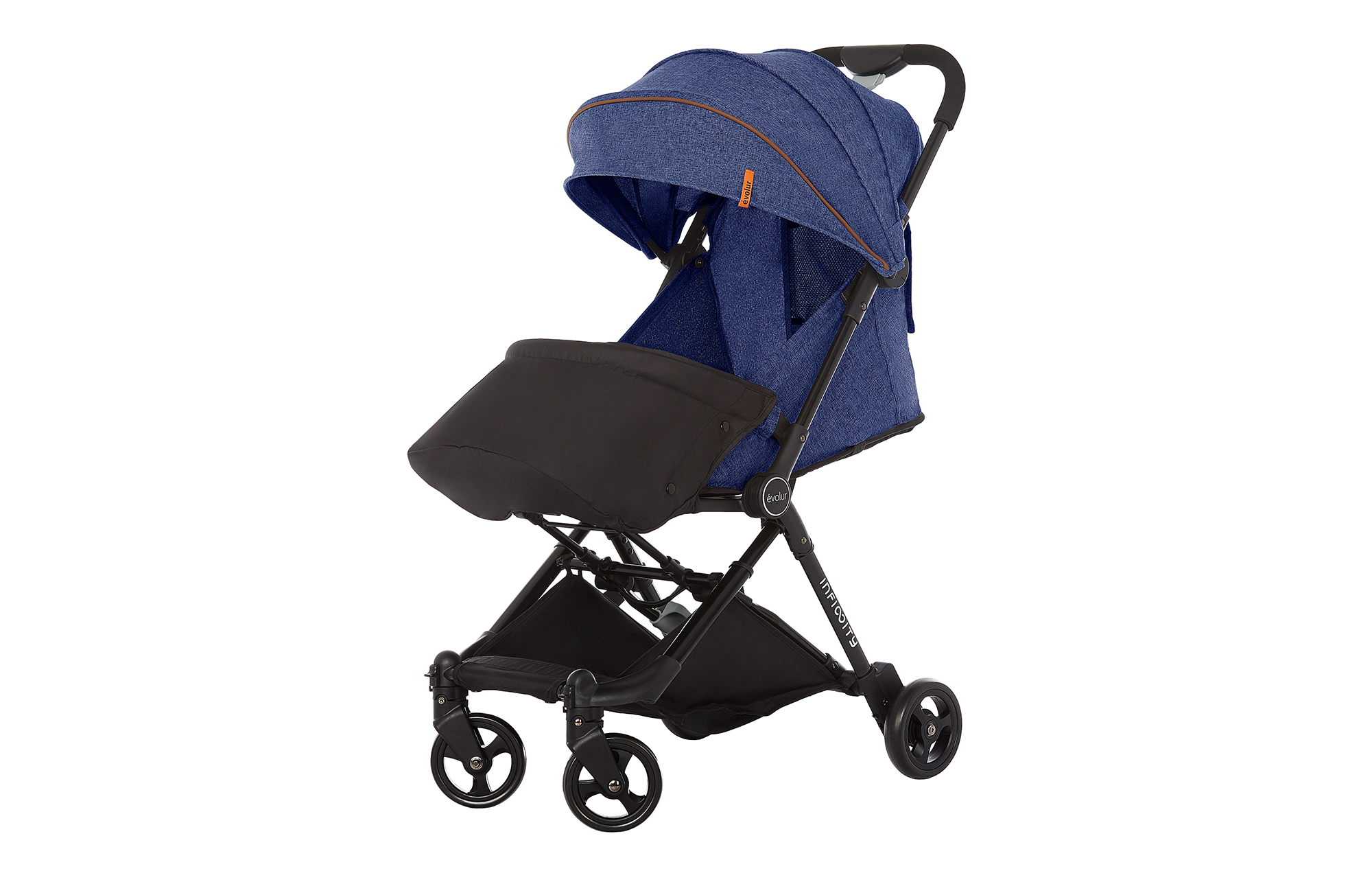 Evolur Infinity Convertible Stroller in Navy