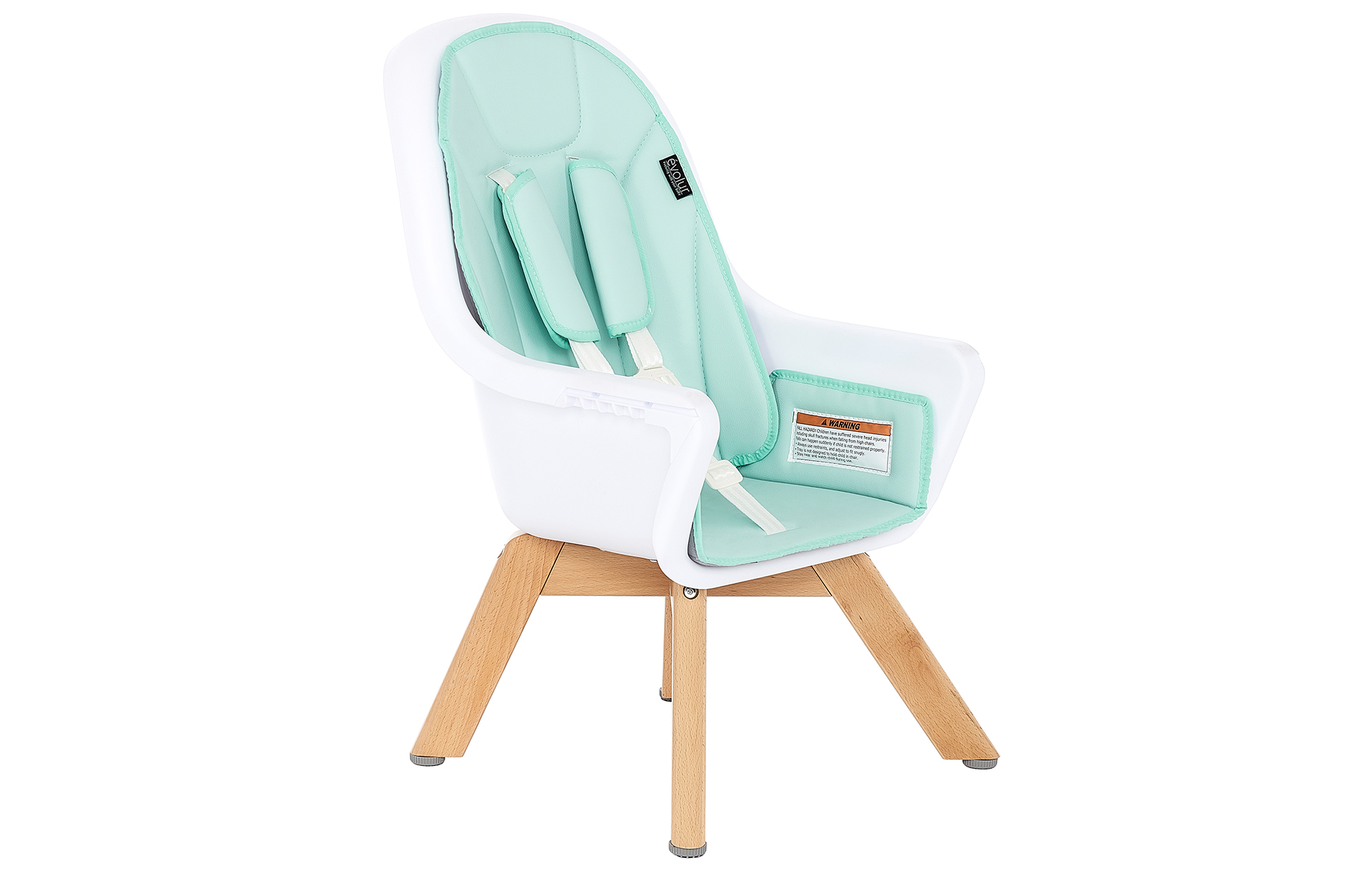 Zoodle 2-in-1 High Chair in Mint