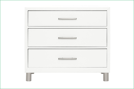 évolur ART DÉCO 3-Drawer Dresser