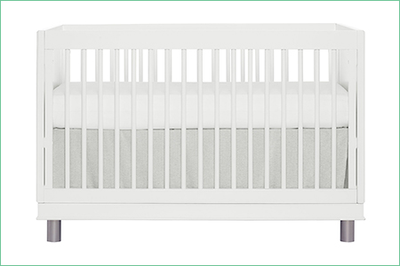 évolur ART DÉCO 3-in-1 Convertible Crib