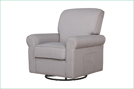 London Upholstered 360 Swive | Glider | Rocker