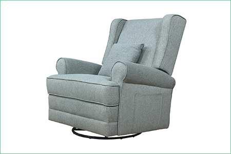 Melbourne Wing Back Swivel Glider