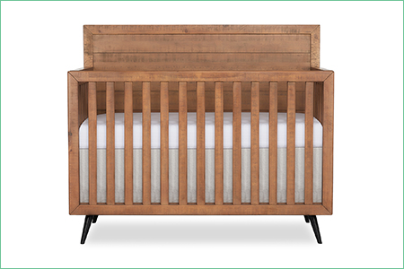 évolur STILNOVO MID CENTURY – 4-in-1 Convertible Crib