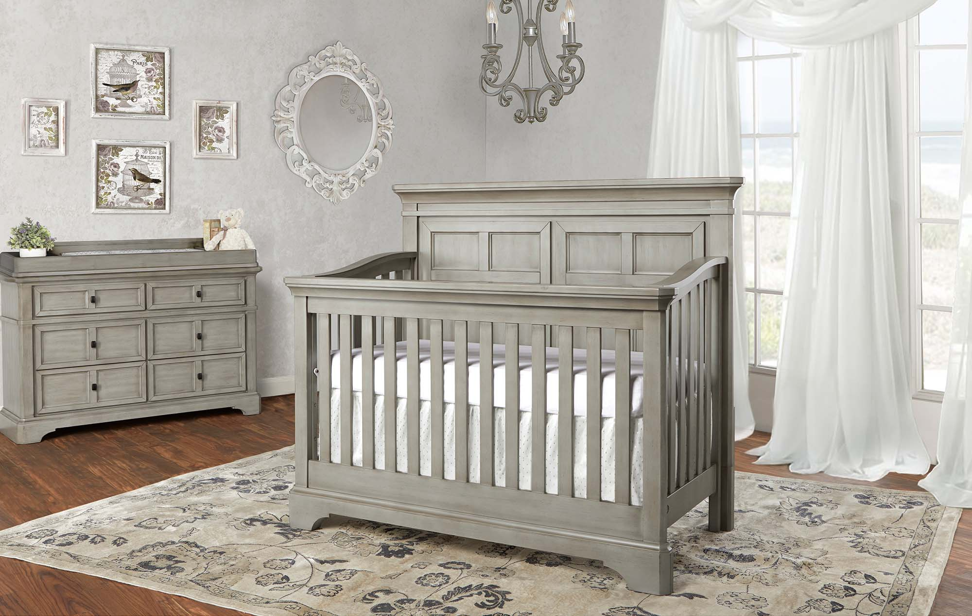 PROVENCE Crib in Ash Grey