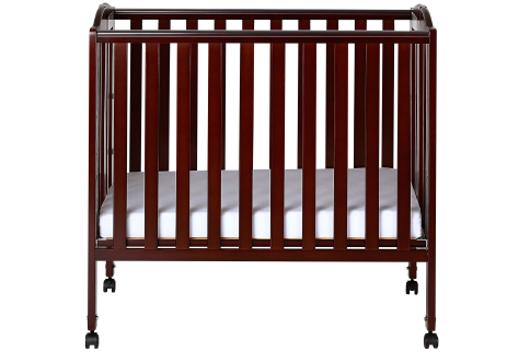 3 in 1 Portable Folding Stationary Side Crib