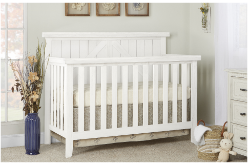 The Rosewood 4-in-1 Convertible Crib