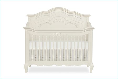 évolur AURORA DELUXE EDITION – 5-in-1 Curved Convertible Crib