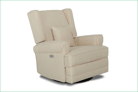 Phoenix Upholstered Wing Back Power Recliner
