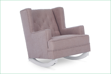 CAPRI WINGBACK 2-IN-1 ROCKER AND ACCENT CHAIR